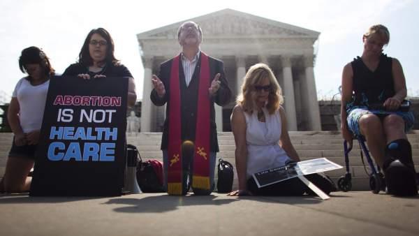 Contra el aborto en EE UU