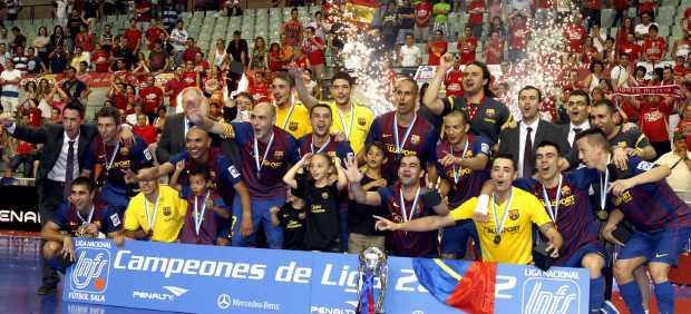 Barça campeón liga fútbol sala