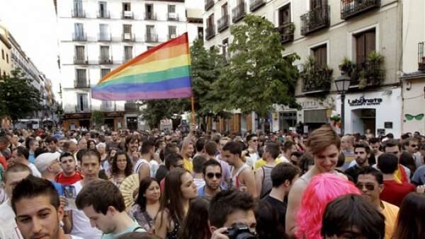 Comienzan el 'Orgullo Gay' en Madrid