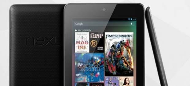 Los usuarios se quejan por fallos en la pantalla de Nexus 7, la tableta de Google