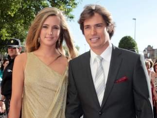 Carlos Baute y Astrid Klisans