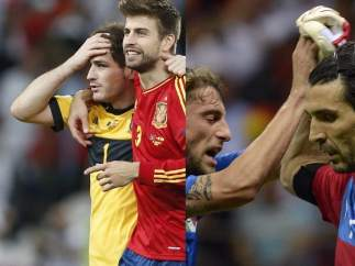 Buffon - Casillas