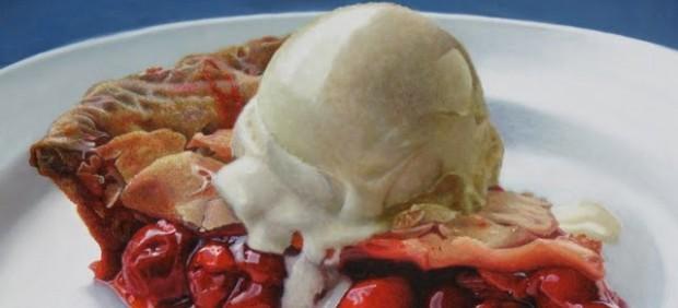 'Big Cherry Pie A La Mode'