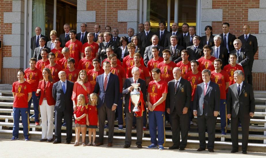Recepción en Zarzuela a la Selección española 67821-924-550