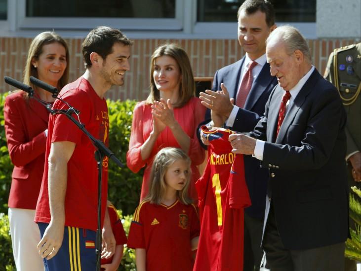Recepción en Zarzuela a la Selección española 67825-731-550