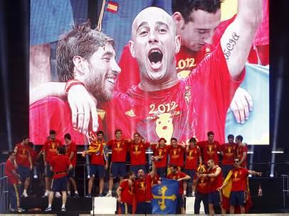 Celebración de la Eurocopa