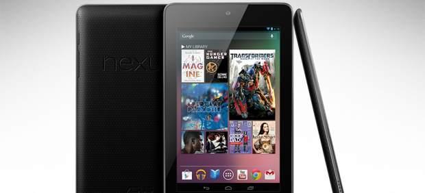 La tableta Nexus 7 de Google llegará a España en septiembre