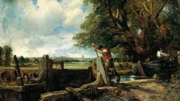 'La Esclusa' de John Constable