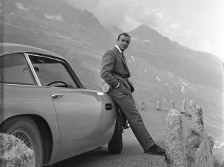 Sean Connery y el Aston Martin DB5
