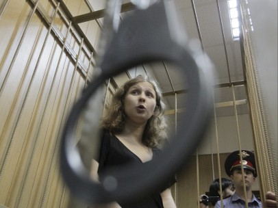 Detenidas las 'Punk Pussy Riot'