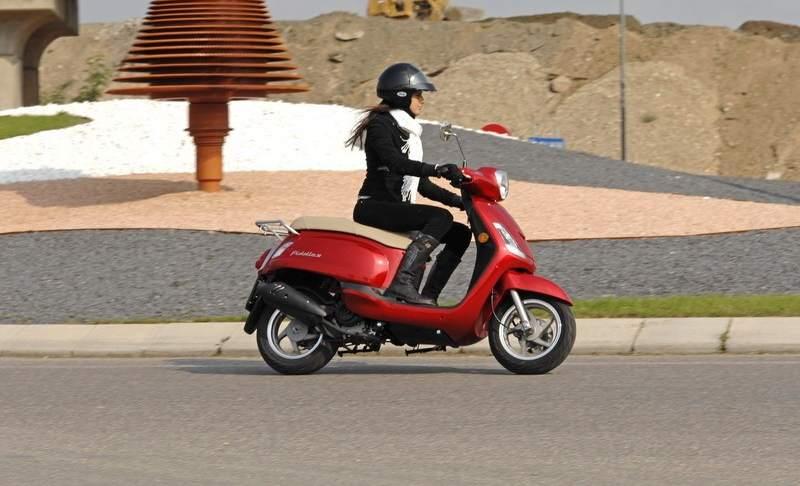nuevo scooter sym fiddle ii 125 s estilo urbano al mejor precio. Black Bedroom Furniture Sets. Home Design Ideas