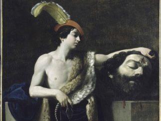 'David con la cabeza de Goliat'