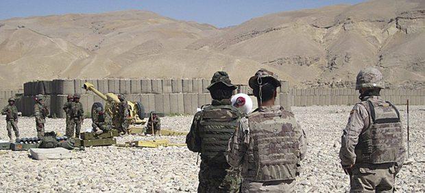 Militares españoles en Afganistán