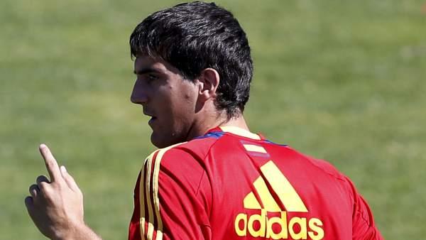 Mikel San José con España