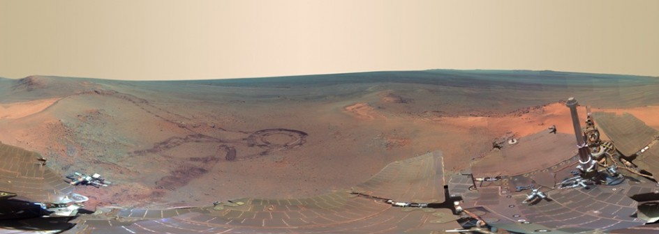 La NASA publica una foto panorámica de Marte  68688-944-336