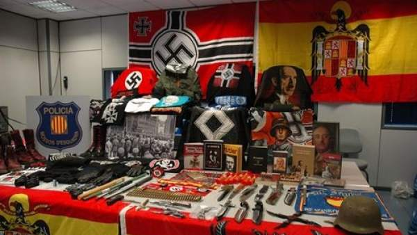 Detenidos cuatro neonazis