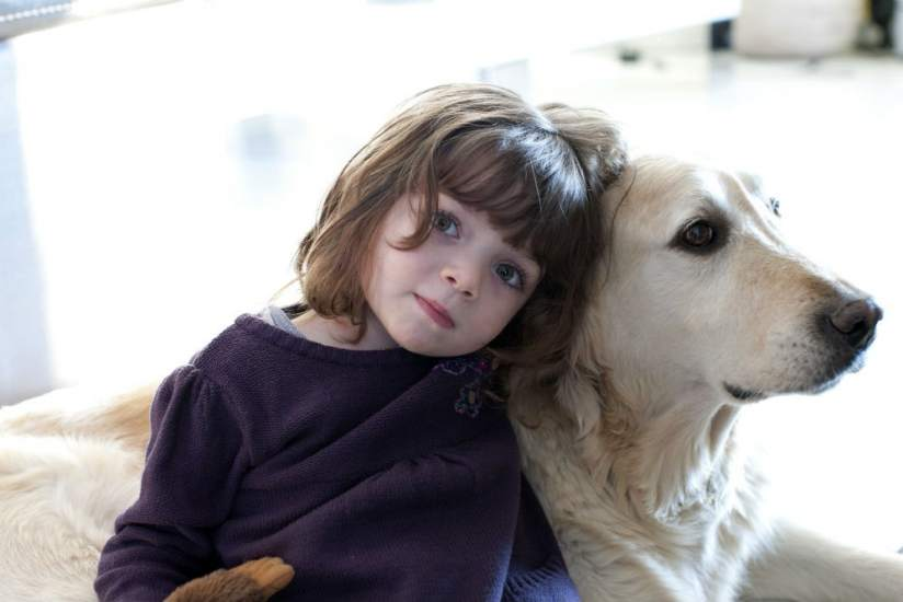 La convivencia con un perro puede evitar al beb - Cuando se puede banar a un perro ...