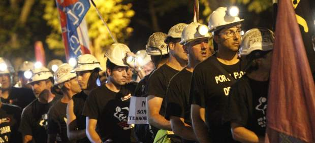 'Marcha negra' en Madrid