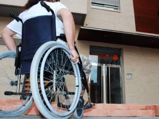Una persona con discapacidad