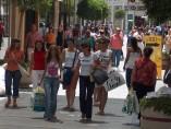 Gente de compras