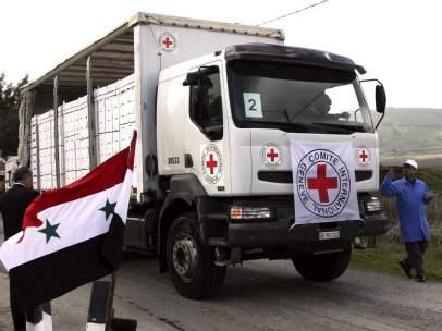 Cruz Roja habla de guerra civil en Siria