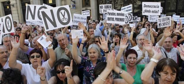 Protesta de funcionarios