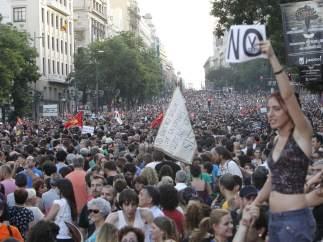 La marcha de Madrid