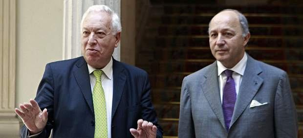 Margallo se re�ne con Fabius