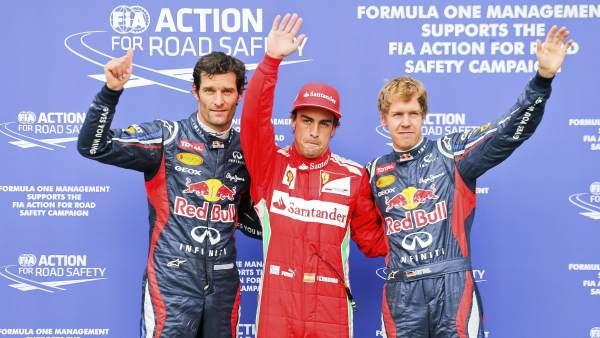 Alonso saldrá desde la pole