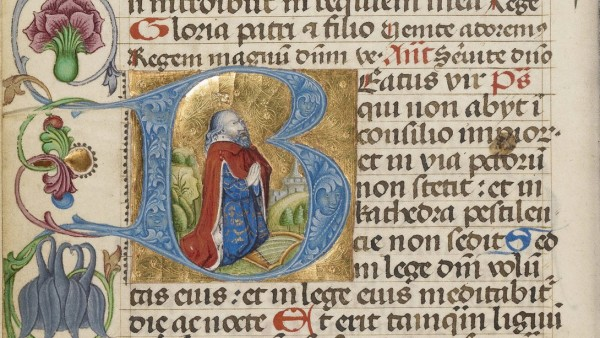 David in Prayer, about 1485