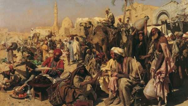 'Market in Cairo'