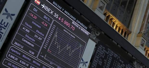�ndice Ibex 35 en la Bolsa de Madrid