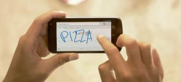 Google Handwrite permite hacer búsquedas escribiendo a mano en pantallas táctiles