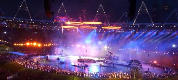 Ceremonia de inauguración de los JJ OO de Londres 2012