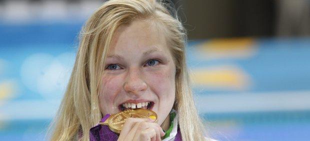 La campeona olímpica Ruta Meilutyte deja la natación a los 22 años tras una depresión y rumores ...