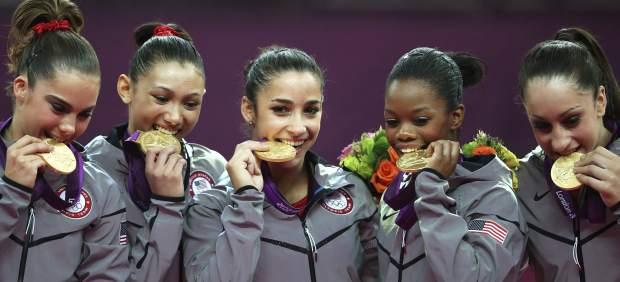 Equipo EE UU gimnasia artística