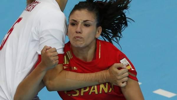 Carmen Martín, de España de balonmano
