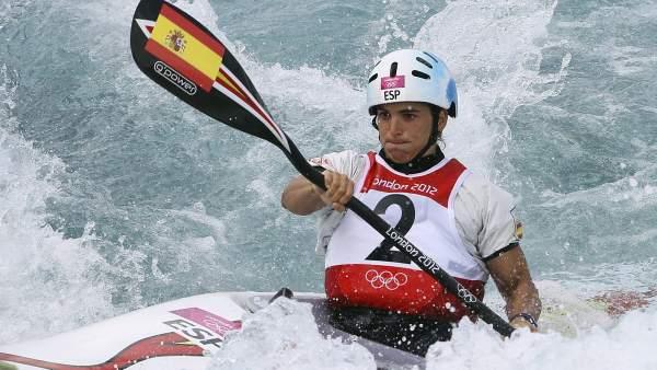 Maialen Chourraut, bronce y segunda medalla española