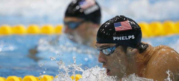 Phelps y Lochte