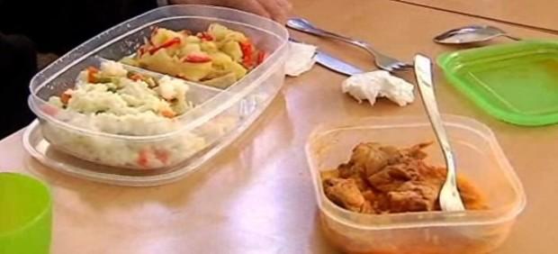 Tres euros al día por comer 'de tupper'