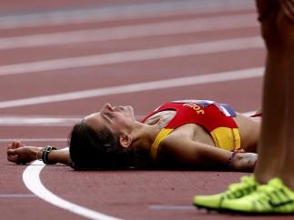 Natalia Rodríguez, eliminada en los 1500 m