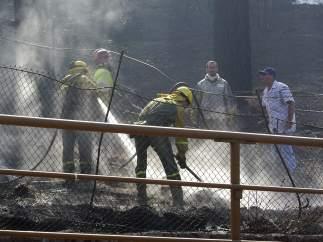 Incendios en las Canarias