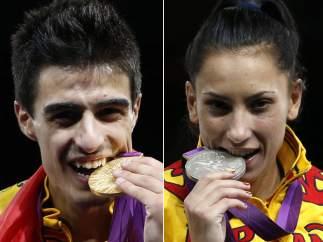 Joel González y Brigitte Yagüe