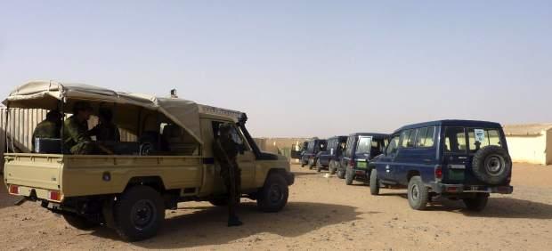 Cooperantes en el Sáhara