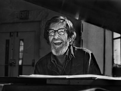 John Cage at Westbeth, 1972