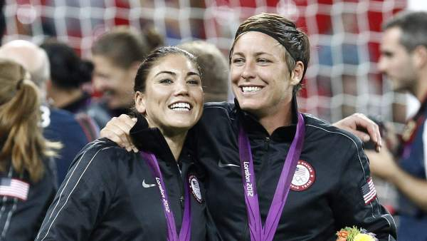 Hope Solo, campeona olímpica