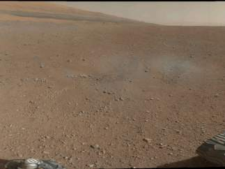 Primera panorámica de Marte