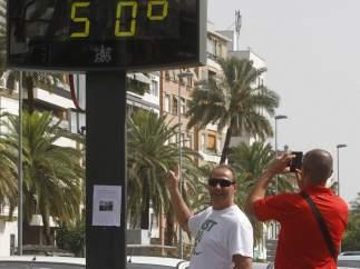Mucho calor en Córdoba