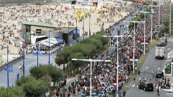 Marcha en San Sebastián por la liberación de Uribetxebarria