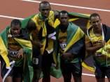 Jamaica, oro en el 4x100
